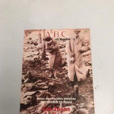 Coleccionismo de Los Domingos de ABC: ABC. Lote 201184772