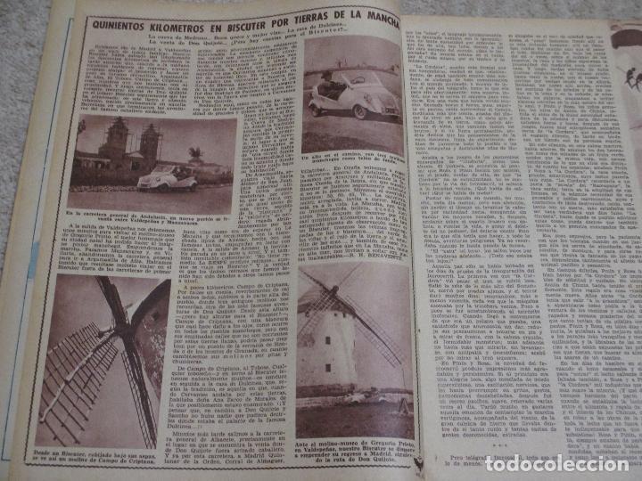 Coleccionismo de Los Domingos de ABC: Los domingos de ABC 12/06/55 Clarín, En Biscuter por la Mancha, Cádiz, Salamanca, Mallorca - Foto 2 - 202481087