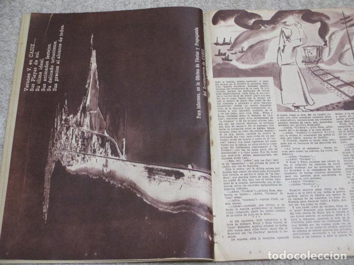 Coleccionismo de Los Domingos de ABC: Los domingos de ABC 12/06/55 Clarín, En Biscuter por la Mancha, Cádiz, Salamanca, Mallorca - Foto 4 - 202481087