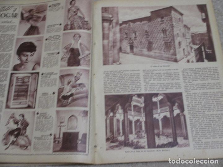 Coleccionismo de Los Domingos de ABC: Los domingos de ABC 12/06/55 Clarín, En Biscuter por la Mancha, Cádiz, Salamanca, Mallorca - Foto 6 - 202481087
