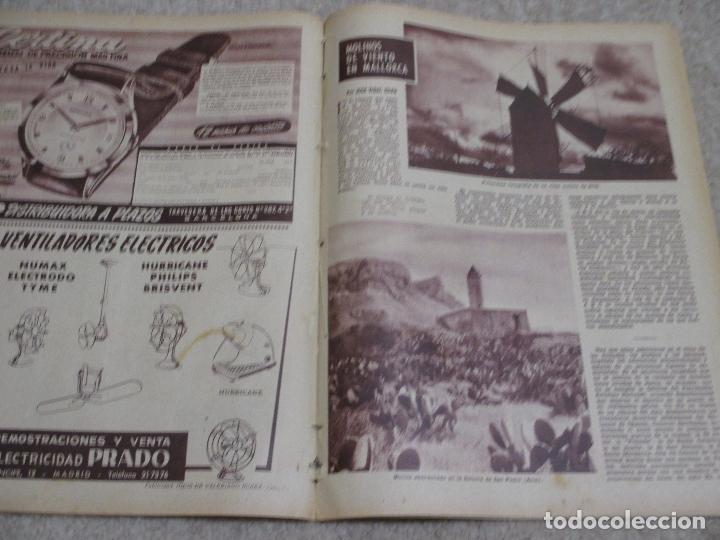 Coleccionismo de Los Domingos de ABC: Los domingos de ABC 12/06/55 Clarín, En Biscuter por la Mancha, Cádiz, Salamanca, Mallorca - Foto 7 - 202481087