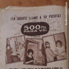Coleccionismo de Los Domingos de ABC: PUBLICIDAD COLGATE RECORTE PRENSA ABC 1963 4/6 PAGINA COMPLETA. Lote 202862157