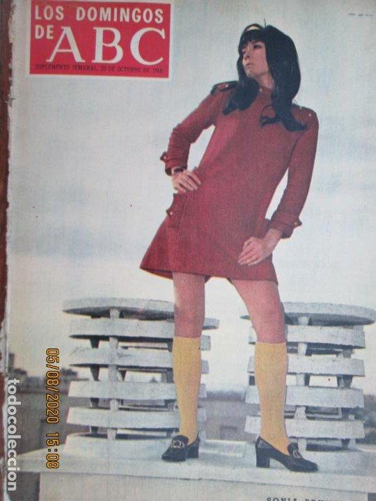 LOS DOMINGOS DE ABC- 20-10-1968 SONIA BRUNO (Coleccionismo - Revistas y Periódicos Modernos (a partir de 1.940) - Los Domingos de ABC)