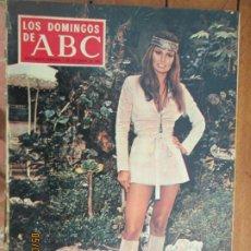 Colecionismo de Los Domingos de ABC: LOS DOMINGOS DE ABC -01-12-1968 - RAQUEL WELCH. Lote 203505855