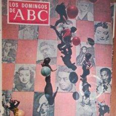 Colecionismo de Los Domingos de ABC: LOS DOMINGOS DE ABC 08-09-1968 - LA NUEVA OLA DE LOS POSTERS. Lote 203518847
