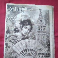 Coleccionismo de Los Domingos de ABC: ABC - SEVILLA 9 DE ABRIL DE 1989 - FERIA DE ABRIL DE SEVILLA. Lote 204085338