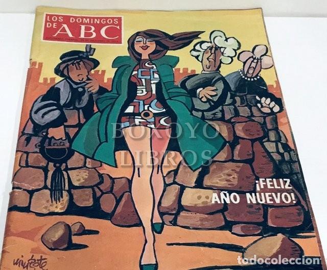 LOS DOMINGOS DE ABC. SUPLEMENTO SEMANAL, 29 DE DICIEMBRE DE 1974. ¡FELIZ AÑO NUEVO! (Coleccionismo - Revistas y Periódicos Modernos (a partir de 1.940) - Los Domingos de ABC)