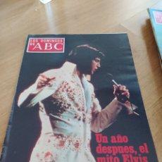 Colecionismo de Los Domingos de ABC: T2 LOS DOMINGOS DE ABC. AÑO 1978. AGOSTO. EL MITO DE ELVIS SIGUE VIVO. Lote 208063577