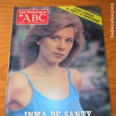 Coleccionismo de Los Domingos de ABC: LOS DOMINGOS DE ABC - 4 SEPTIEMBRE 1983 - INMA DE SANTIS - WALT DISNEY- MINGOT - JUAN LUIS VASSALLO. Lote 208434087
