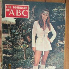 Coleccionismo de Los Domingos de ABC: LOS DOMINGOS DE ABC -01-12-1968 - RAQUEL WELCH. Lote 210398470
