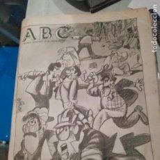 Coleccionismo de Los Domingos de ABC: ANTIGUO PERIÓDICO ABC DOMINGO 16 MAYO 1991 - LAS HUELGAS. Lote 212812321