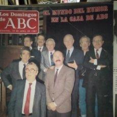 Coleccionismo de Los Domingos de ABC: LOS DOMINGOS DE ABC SEMANAL 19 DE ABRIL DE 1987 FASCÍCULO 27 HISTORIA VIVA DEL REAL MADRID. Lote 213272438