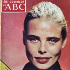 Coleccionismo de Los Domingos de ABC: LOS DOMINGOS DE ABC, JULIO 1976- MARGAUX HEMINGWAY- GENERAL ARANDA- OLIMPIADAS MONTREAL- LA PAELLA. Lote 214116746