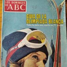 Coleccionismo de Los Domingos de ABC: LOS DOMINGOS DE ABC, FEBRERO 1976- OLIMPIADAS INVIERNO INNSBRUCK- EL CIRCO- SOLJENITSIN- SOLCHAGA FL. Lote 214119580