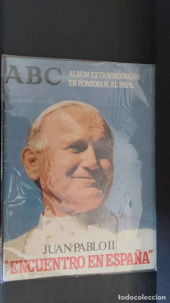 Coleccionismo de Los Domingos de ABC: REVISTA. ALBUM EXTRAORDINARIO DE ABC. PAPA JUAN PABLO II. ENCUENTRO EN ESPAÑA - Foto 2 - 214549000