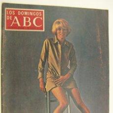 Collectionnisme de Los Domingos de ABC: LOS DOMINGOS DE ABC FEBRERO 1970. CONCHITA MONTES, BAO-DAI, PAUL NEWMANN, MIREILLE DARC. Lote 214874050