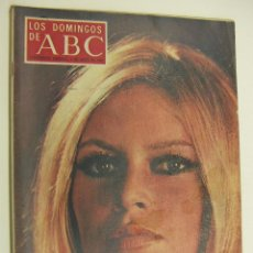 Collectionnisme de Los Domingos de ABC: LOS DOMINGOS DE ABC 4 MAYO 1969 BRIGITTE BARDOT. Lote 214969241