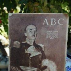 Coleccionismo de Los Domingos de ABC: ABC MADRID 1 DE OCTUBRE 1952 PORTADA FIESTA DEL CAUDILLO. Lote 214991812