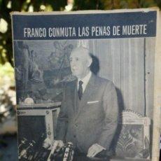 Coleccionismo de Los Domingos de ABC: ABC MADRID 31 DE DICIEMBRE DE 1970 PORTADA FRANCO CONMUTA LAS PENAS DE MUERTE. Lote 214992302