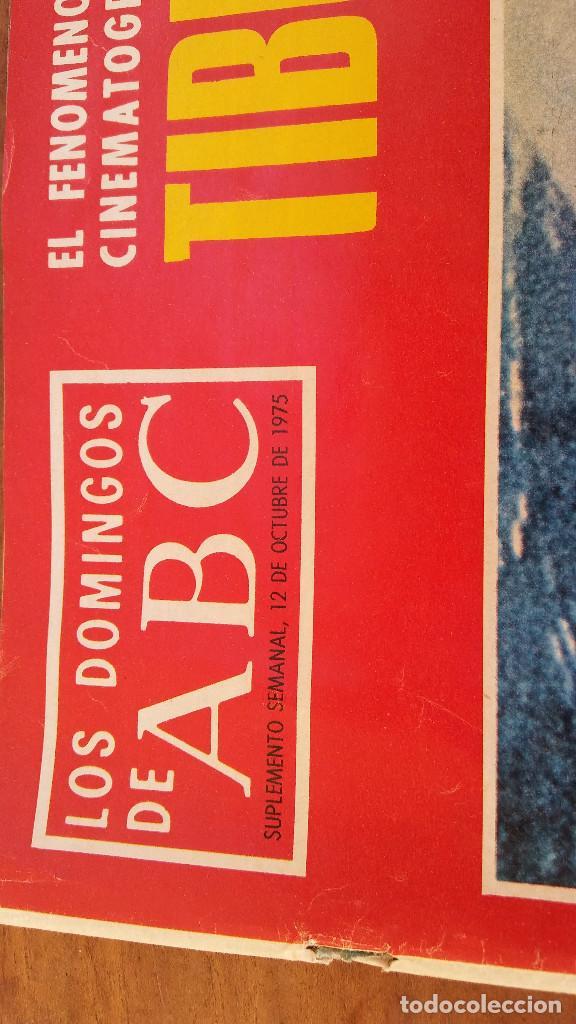 Coleccionismo de Los Domingos de ABC: SUPLEMENTO SEMANAL ABC, 12 OCTUBRE 1975, TIBURÓN, FENÓMENO DEL AÑO. PERFECTO ESTADO - Foto 2 - 215081732