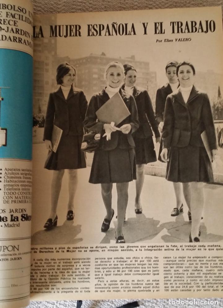 Coleccionismo de Los Domingos de ABC: LOS DOMINGOS DE ABC. Año 1974 (enero- diciembre) - tomo encuadernado - Foto 2 - 215163583