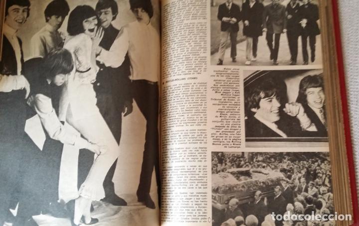 Coleccionismo de Los Domingos de ABC: LOS DOMINGOS DE ABC. Año 1974 (enero- diciembre) - tomo encuadernado - Foto 3 - 215163583