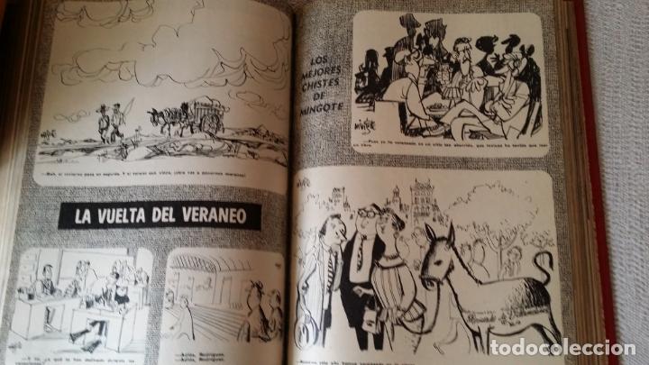 Coleccionismo de Los Domingos de ABC: LOS DOMINGOS DE ABC. Año 1974 (enero- diciembre) - tomo encuadernado - Foto 4 - 215163583
