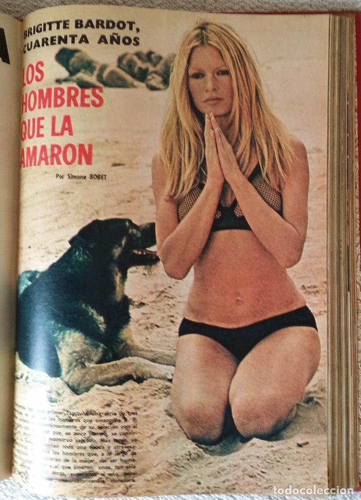 Coleccionismo de Los Domingos de ABC: LOS DOMINGOS DE ABC. Año 1974 (enero- diciembre) - tomo encuadernado - Foto 5 - 215163583