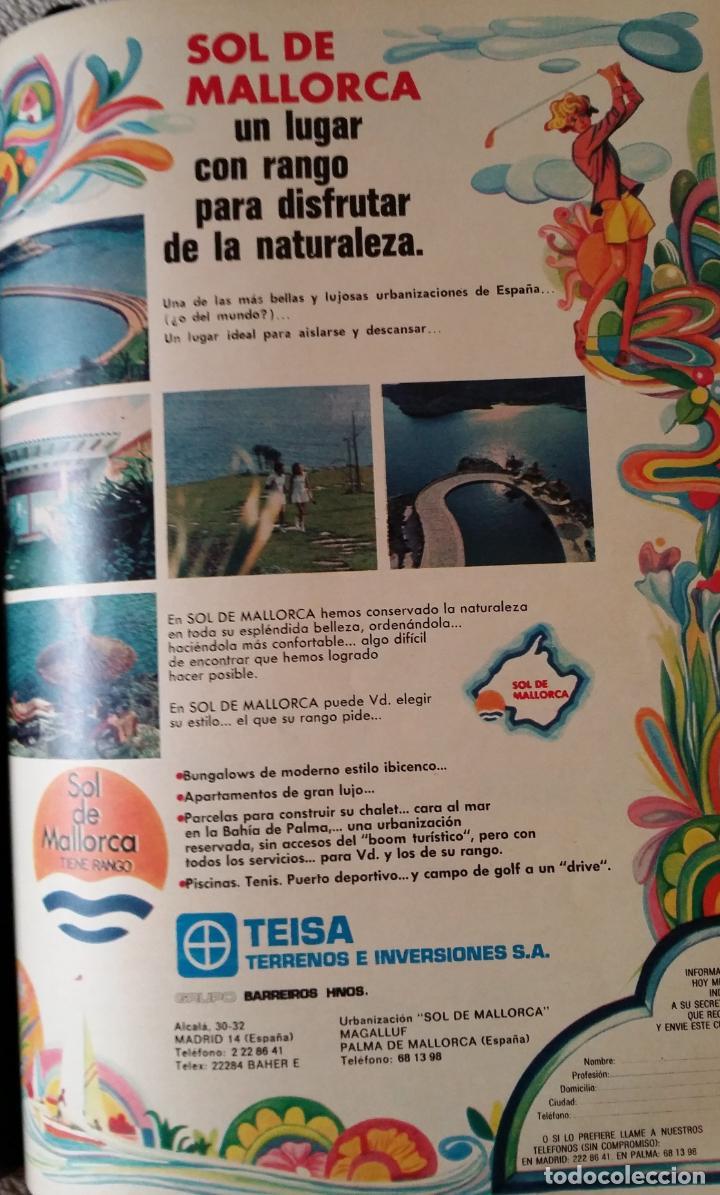 Coleccionismo de Los Domingos de ABC: LOS DOMINGOS DE ABC. Año 1974 (enero- diciembre) - tomo encuadernado - Foto 6 - 215163583