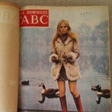 Coleccionismo de Los Domingos de ABC: LOS DOMINGOS DE ABC. AÑO 1974 (ENERO- DICIEMBRE) - TOMO ENCUADERNADO. Lote 215163583