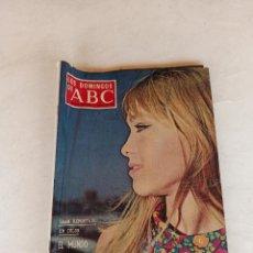 Colecionismo de Los Domingos de ABC: LOS DOMINGOS DE ABC 11 AGOSTO DE 1968 MARISOL GRAN REPORTAJE.. Lote 215732360