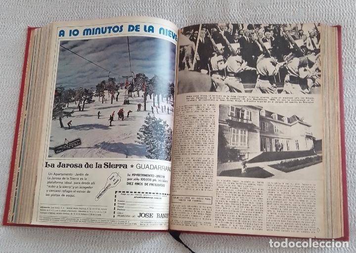 Coleccionismo de Los Domingos de ABC: LOS DOMINGOS DE ABC. Año 1975 (enero - junio) - tomo encuadernado - Foto 4 - 215786145