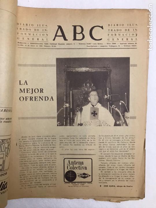 Coleccionismo de Los Domingos de ABC: BODAS DE ORO CORONACIÓN DE LA VIRGEN DEL ROCÍO. ABC 25 MAYO, 1969. - Foto 3 - 217497681