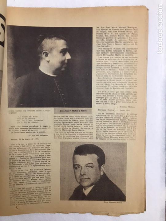 Coleccionismo de Los Domingos de ABC: BODAS DE ORO CORONACIÓN DE LA VIRGEN DEL ROCÍO. ABC 25 MAYO, 1969. - Foto 4 - 217497681