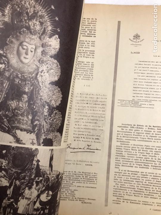 Coleccionismo de Los Domingos de ABC: BODAS DE ORO CORONACIÓN DE LA VIRGEN DEL ROCÍO. ABC 25 MAYO, 1969. - Foto 6 - 217497681