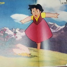 Coleccionismo de Los Domingos de ABC: REVISTA GENTE MENUDA CON POSTER DE HEIDI. Lote 218106318