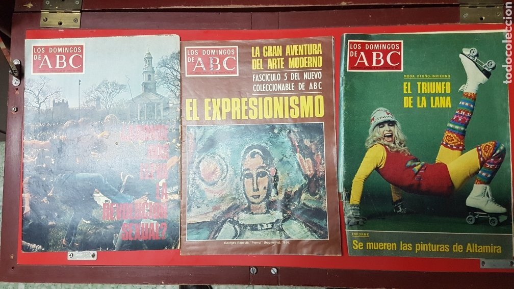 Coleccionismo de Los Domingos de ABC: Lote revistas los domingos de abc - Foto 2 - 218107196
