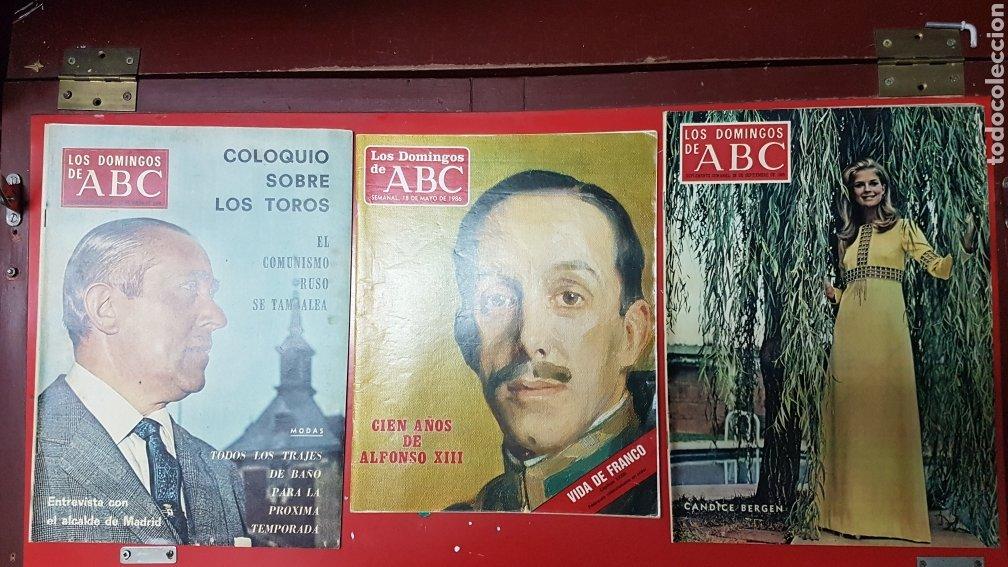 Coleccionismo de Los Domingos de ABC: Lote revistas los domingos de abc - Foto 3 - 218107196