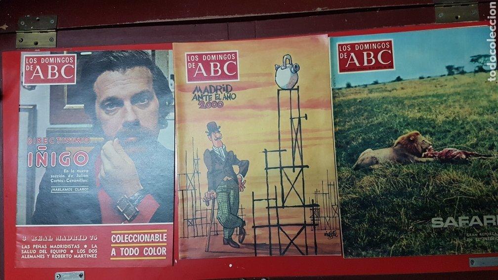 Coleccionismo de Los Domingos de ABC: Lote revistas los domingos de abc - Foto 4 - 218107196
