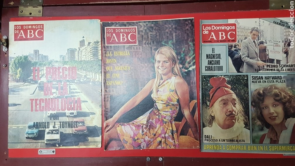 Coleccionismo de Los Domingos de ABC: Lote revistas los domingos de abc - Foto 6 - 218107196