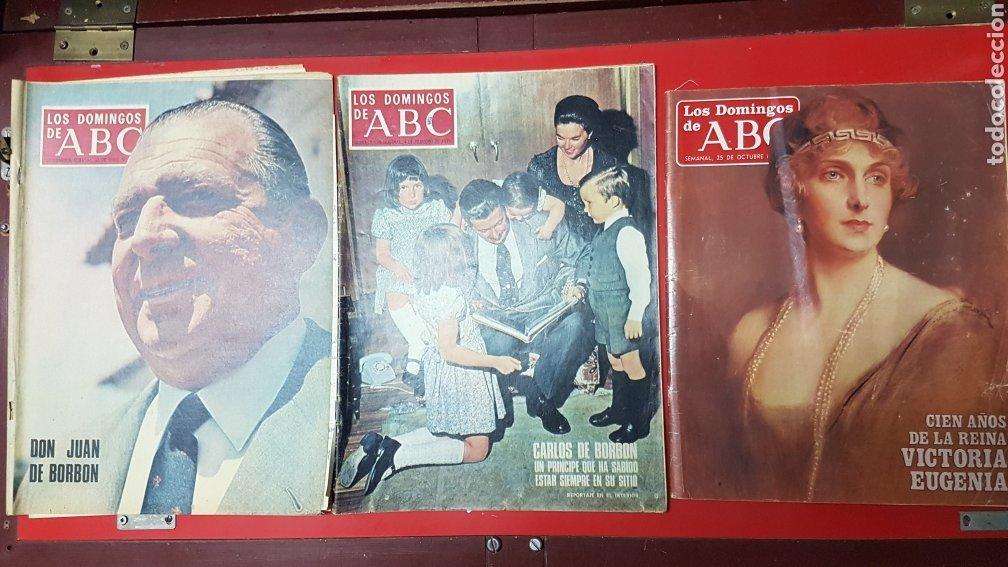 LOTE REVISTAS LOS DOMINGOS DE ABC (Coleccionismo - Revistas y Periódicos Modernos (a partir de 1.940) - Los Domingos de ABC)