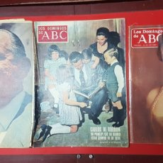 Coleccionismo de Los Domingos de ABC: LOTE REVISTAS LOS DOMINGOS DE ABC. Lote 218107196
