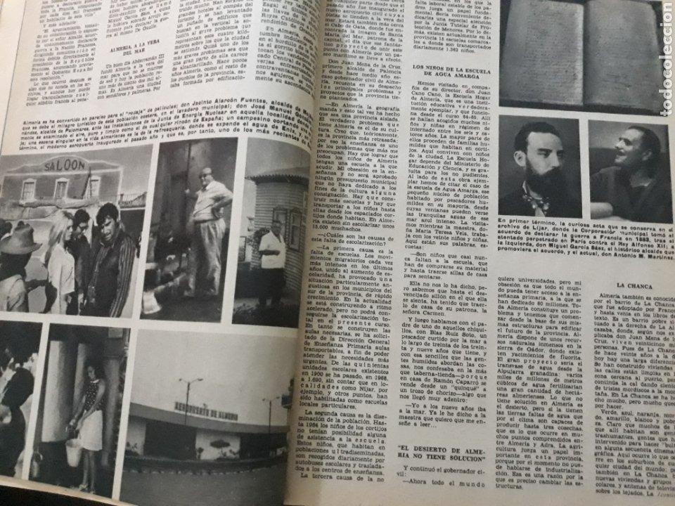 Coleccionismo de Los Domingos de ABC: REPORTAJE DE ALMERIA DEL AÑO 1969 . 9 PAGINAS - Foto 4 - 218395250