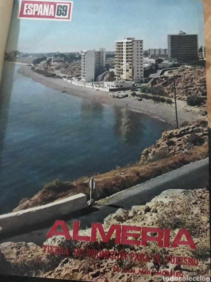 REPORTAJE DE ALMERIA DEL AÑO 1969 . 9 PAGINAS (Coleccionismo - Revistas y Periódicos Modernos (a partir de 1.940) - Los Domingos de ABC)