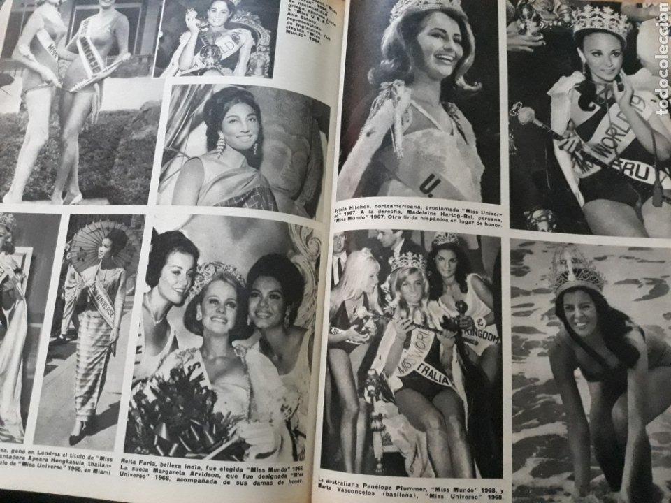 Coleccionismo de Los Domingos de ABC: LAS MISSES . ARTICULO DE 6 PAGINAS AÑO 1969 DE LOS CONCURSOS DE BELLEZA - Foto 3 - 218395866