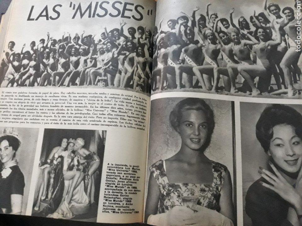 LAS MISSES . ARTICULO DE 6 PAGINAS AÑO 1969 DE LOS CONCURSOS DE BELLEZA (Coleccionismo - Revistas y Periódicos Modernos (a partir de 1.940) - Los Domingos de ABC)