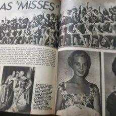 Coleccionismo de Los Domingos de ABC: LAS MISSES . ARTICULO DE 6 PAGINAS AÑO 1969 DE LOS CONCURSOS DE BELLEZA. Lote 218395866