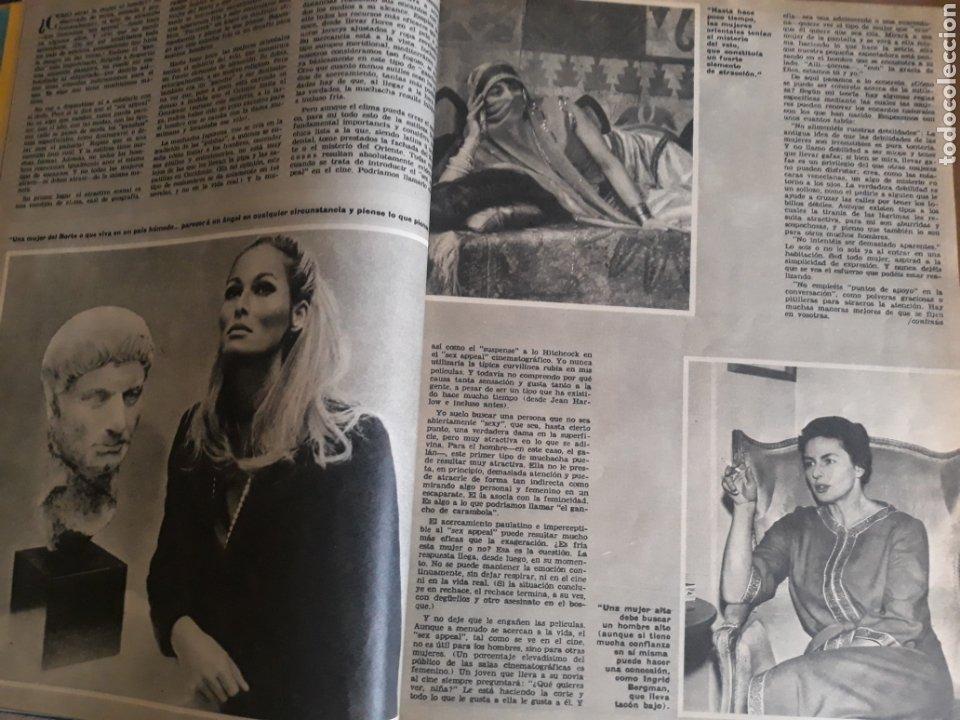 Coleccionismo de Los Domingos de ABC: LOS SECRETOS DEL SEX-APPEAL . ALFRED HITCHCOCK . 5 PAGINAS . AÑO 1969 - Foto 2 - 218401657