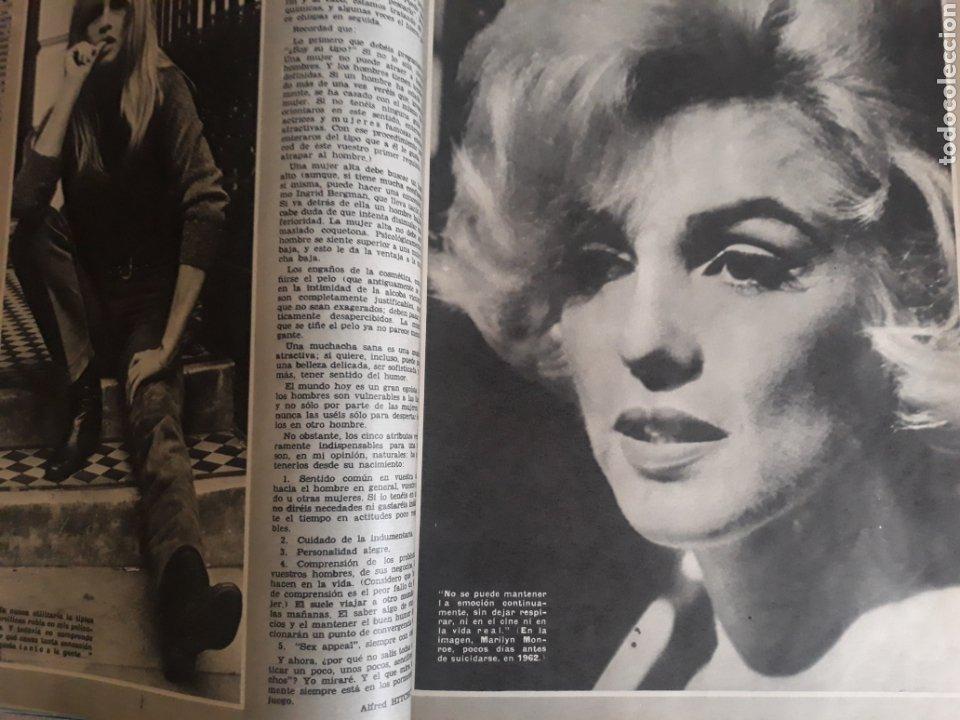 Coleccionismo de Los Domingos de ABC: LOS SECRETOS DEL SEX-APPEAL . ALFRED HITCHCOCK . 5 PAGINAS . AÑO 1969 - Foto 3 - 218401657