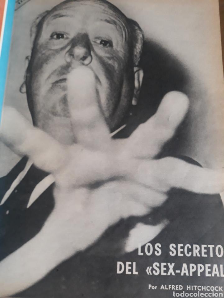 LOS SECRETOS DEL SEX-APPEAL . ALFRED HITCHCOCK . 5 PAGINAS . AÑO 1969 (Coleccionismo - Revistas y Periódicos Modernos (a partir de 1.940) - Los Domingos de ABC)